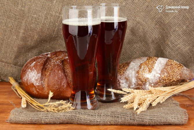 Как сделать квас из хлеба дома