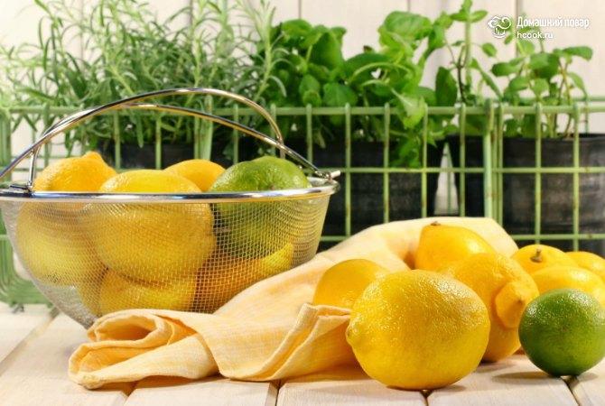 Полезные рецепты из лимона