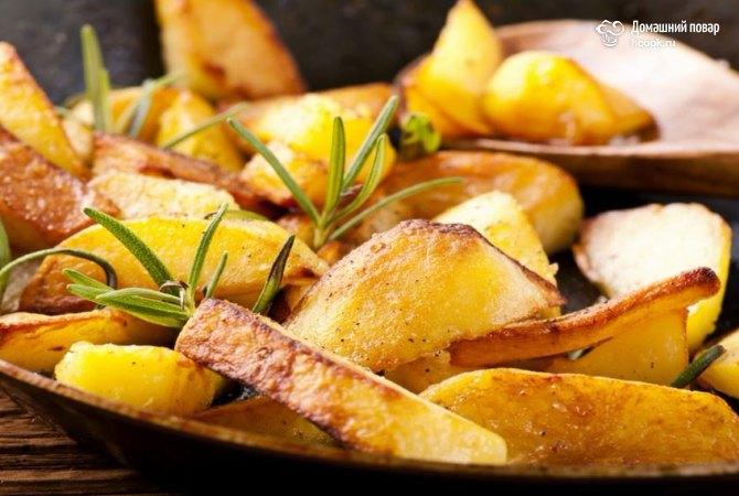 Узнайте как жарить картошку с корочкой